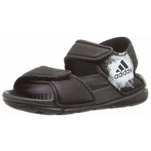 Adidas Toddler Black/White AltasSwim Sandals